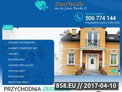 Miniaturka duomedic.pl (Opieka Medyczna lekarzy specjalistów)