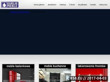 Zrzut strony Producent Mebli Łazienkowych DURLIK-MEBLE