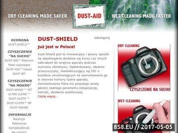 Zrzut strony Dust-Aid - Jak czyśćić (wyczyścić) matrycę w aparacie (lustrzanka)