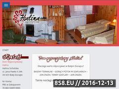 Miniaturka domeny www.dwhalina.pl