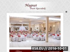Miniaturka domeny www.dwor-magnat.pl