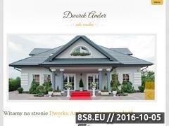 Miniaturka domeny www.dworek-amber.pl