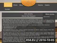 Miniaturka domeny www.dworeknadstawami.pl