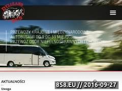 Miniaturka dylizans-bus.pl (Przewóz osób od 8 do 58 miejsc)