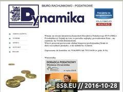 Miniaturka domeny www.dynamika.biz