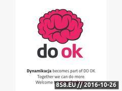 Miniaturka domeny dynamikacja.pl