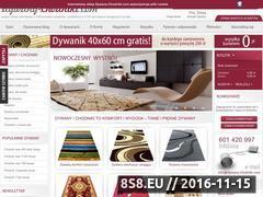 Miniaturka domeny www.dywany-chodniki.com