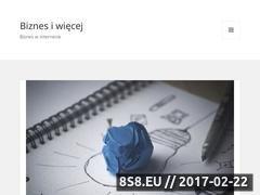 Miniaturka Blog dla biznesu (dyx.pl)