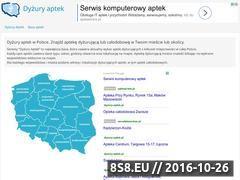 Miniaturka domeny dyzury-aptek.pl
