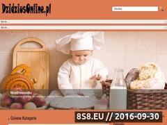 Miniaturka dzidziusonline.pl (Poradnik dla Mam oraz wszystko o ciąży)