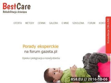 Zrzut strony Rehabilitacja dzieci z porażeniem mózgowym - Poznań