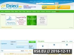 Miniaturka domeny dzieci.eu