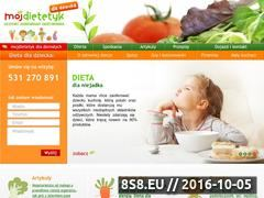 Miniaturka Dieta dla dziecka (dziecko.mojdietetyk.pl)