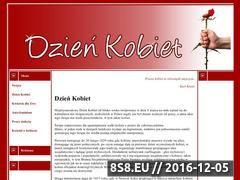 Miniaturka domeny www.dzienkobiet.swieta.biz