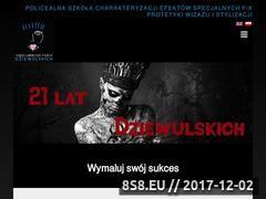 Miniaturka dziewulscy.pl (Szkoła wizażu)