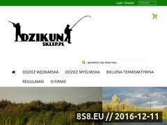 Miniaturka domeny www.dzikunsklep.pl