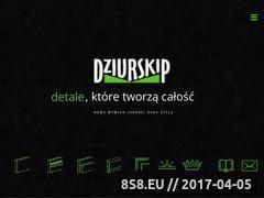 Miniaturka domeny dziurskip.pl