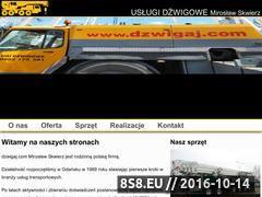 Miniaturka domeny www.dzwigaj.com
