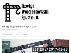Miniaturka Usługi dźwigowe Wojciechowski w Żarowie (dzwigi.firmyregionalne.pl)