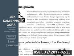 Miniaturka Podnośniki koszowe - wynajem w Kamiennej Górze (dzwigi.kizbud.pl)