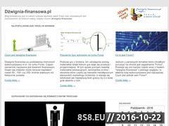 Miniaturka dzwignia-finansowa.pl (Blog poświęcony giełdzie Forex)