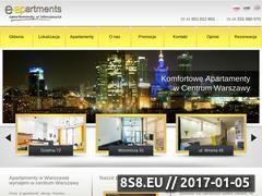 Miniaturka domeny e-apartments.waw.pl