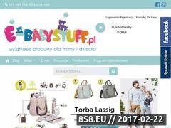 Miniaturka Sklep dziecięcy (e-babystuff.pl)