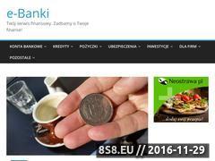 Miniaturka domeny e-banki.com