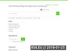 Miniaturka domeny e-biosklep.pl