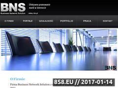 Miniaturka domeny www.e-bns.pl