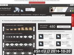 Miniaturka domeny e-brylanty.pl