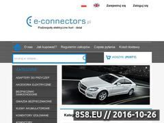 Miniaturka domeny www.e-connectors.pl