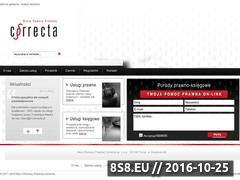 Miniaturka domeny e-correcta.pl