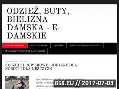 Miniaturka domeny www.e-damskie.pl