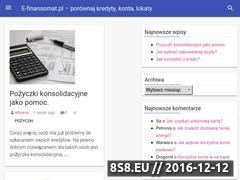 Miniaturka domeny e-finansomat.pl