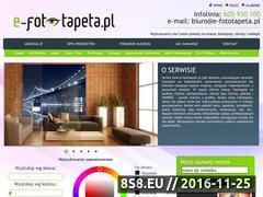 Miniaturka domeny www.e-fototapeta.pl