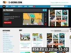 Miniaturka domeny www.e-gierki.com