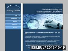 Miniaturka domeny www.e-grafolog.pl