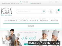 Miniaturka domeny e-kaan.pl