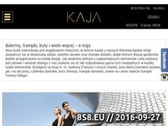 Miniaturka domeny e-kaja.pl