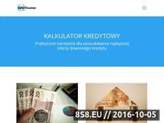 Miniaturka domeny e-kalkulatorkredytowy.pl