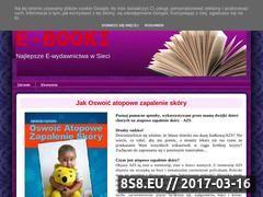 Miniaturka domeny e-ksiazka.blogspot.com