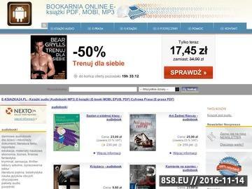 Zrzut strony E-ksiazka24.pl : Audiobooki 24h na dobę