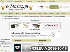 Miniaturka domeny e-masaz.pl