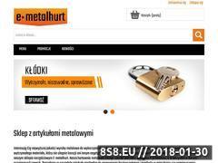 Miniaturka domeny e-metalhurt.com.pl