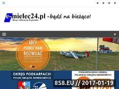 Miniaturka domeny www.e-mielec24.pl