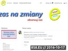 Miniaturka domeny e-mlm.pl