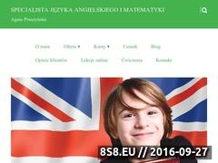 Miniaturka domeny e-naukaangielskiego.pl