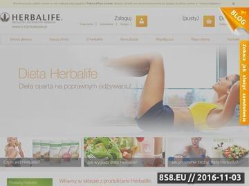 Zrzut strony Suplementy diety Herbalife