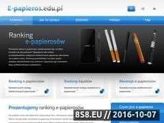 Miniaturka domeny e-papieros.edu.pl